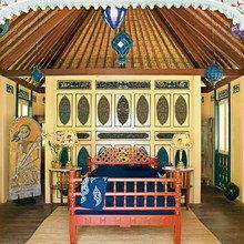 Фотография: Спальня в стиле Восточный, Дома и квартиры, Городские места, Бали – фото на InMyRoom.ru