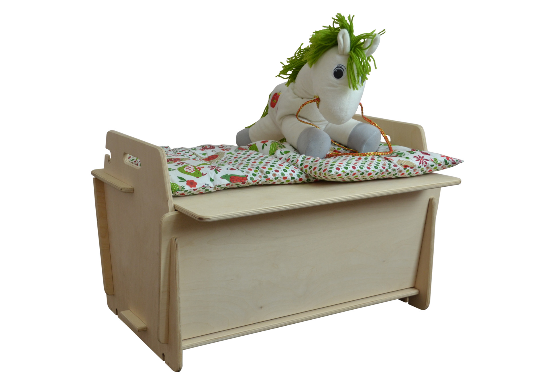 Стол ящик-конструктор для игрушек из фанеры