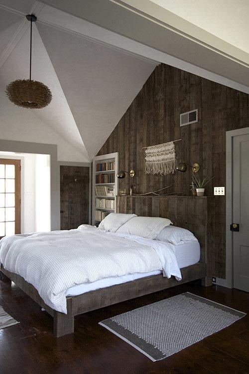 Фотография: Спальня в стиле Прованс и Кантри, Эко, Дом, Переделка, Дом и дача – фото на InMyRoom.ru