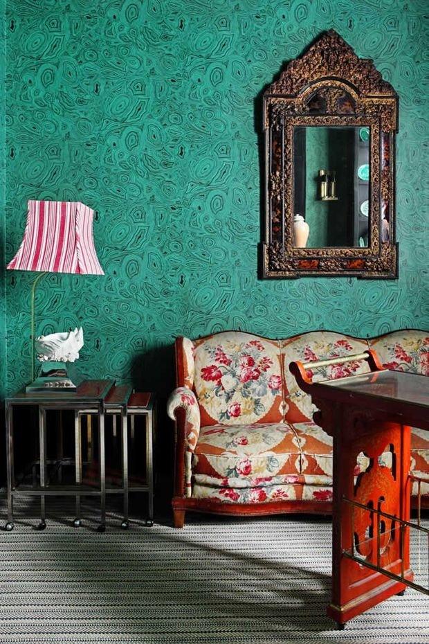 Фотография: Мебель и свет в стиле Восточный, Эклектика, Декор интерьера, Дизайн интерьера, Цвет в интерьере – фото на InMyRoom.ru