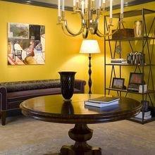 Фотография: Гостиная в стиле Кантри, Освещение, Декор, Советы, Ремонт на практике – фото на InMyRoom.ru