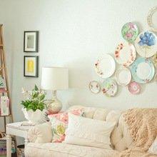 Фотография: Гостиная в стиле Кантри, Декор интерьера, Хранение, Стиль жизни, Советы – фото на InMyRoom.ru