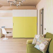 Фотография: Гостиная в стиле Современный, Дом, Дома и квартиры, Проект недели – фото на InMyRoom.ru