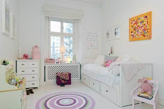 Фотография: Детская в стиле Прованс и Кантри, Квартира, Швеция, Мебель и свет, Дома и квартиры, Гетеборг – фото на InMyRoom.ru