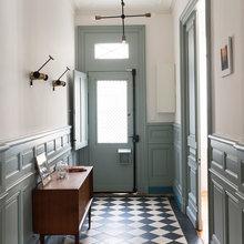 Фотография: Прихожая в стиле Скандинавский, Дом, Франция, Дом и дача – фото на InMyRoom.ru
