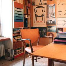 Фотография: Кабинет в стиле Скандинавский,  – фото на InMyRoom.ru