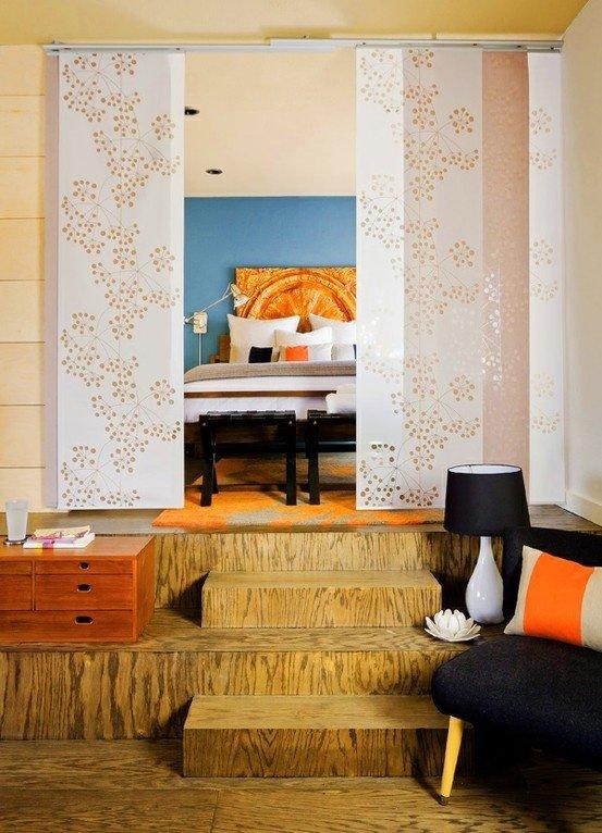 Фотография: Спальня в стиле , Декор интерьера, Дизайн интерьера, Цвет в интерьере – фото на InMyRoom.ru