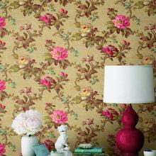 Фотография: Декор в стиле Кантри, Гостиная, Интерьер комнат, Картины, Зеркало – фото на InMyRoom.ru