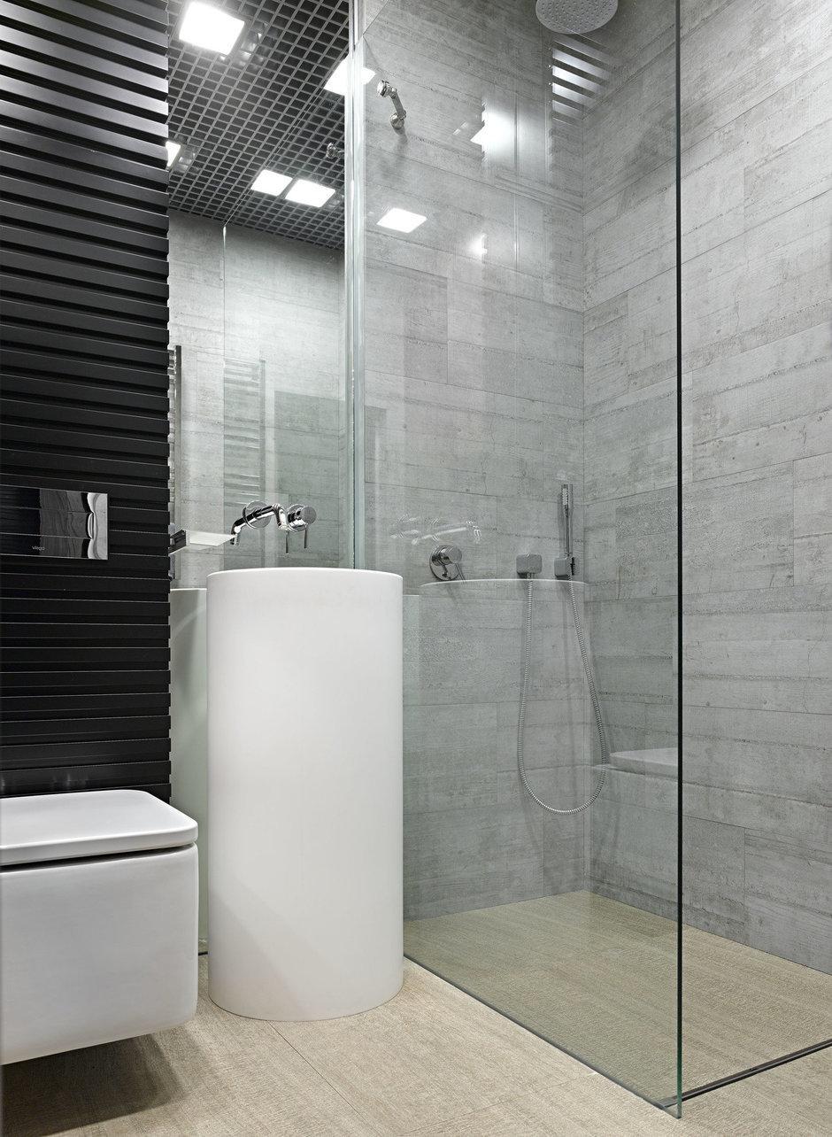 Фотография: Ванная в стиле Современный, Малогабаритная квартира, Квартира – фото на InMyRoom.ru