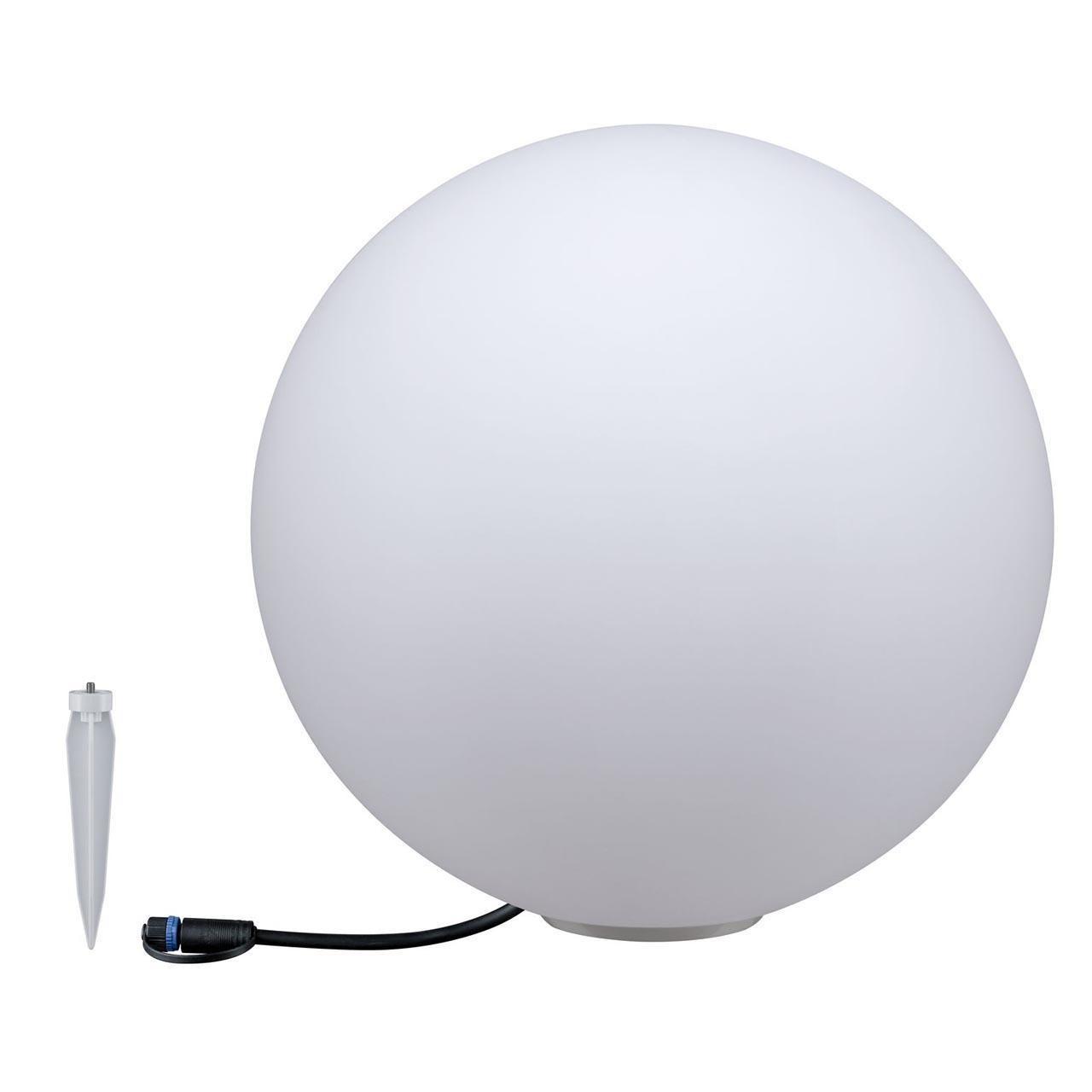 Уличный светодиодный светильник Lichtobjekt Globe белого цвета