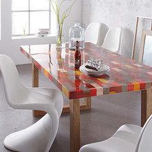 Фотография: Кухня и столовая в стиле Эклектика, Декор интерьера, DIY, Дизайн интерьера, Цвет в интерьере – фото на InMyRoom.ru