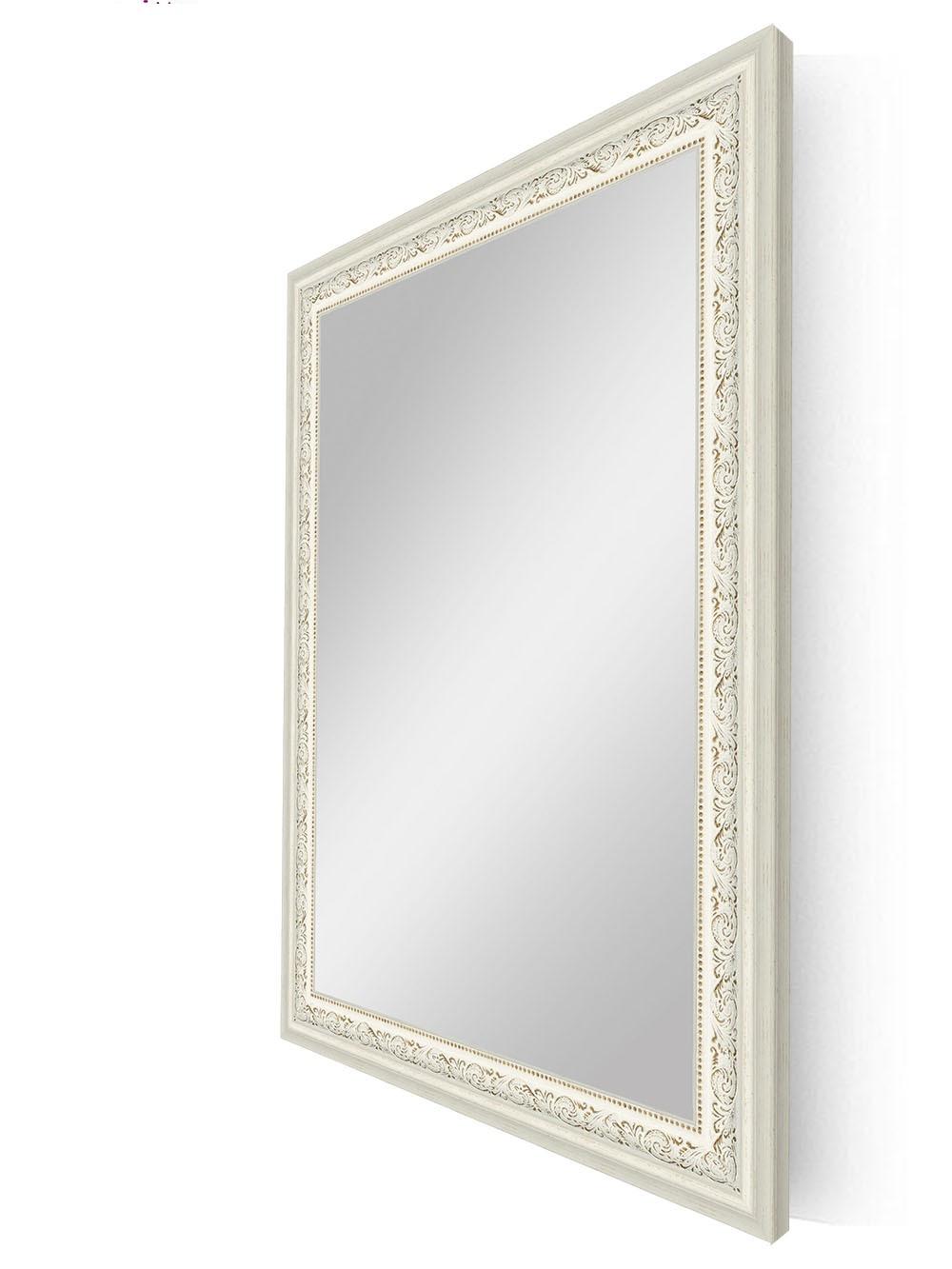 Купить Настенное зеркало в белой раме, inmyroom, Россия