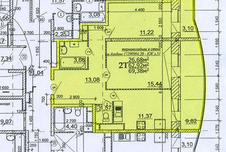 Помогите расставить мебель в комнате 11.22 м2.