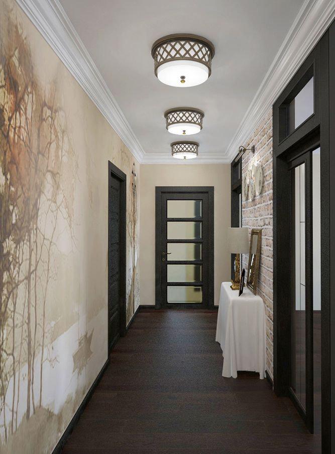 Фотография: Прихожая в стиле Современный, Эклектика, Классический, Квартира, Проект недели – фото на InMyRoom.ru