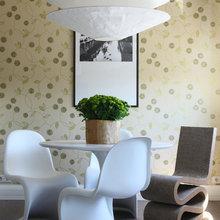 Фотография: Мебель и свет в стиле Современный, Ванная, Квартира, Цвет в интерьере, Дома и квартиры, Белый, Зеленый, Синий – фото на InMyRoom.ru