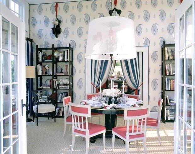 Фотография: Кухня и столовая в стиле Прованс и Кантри, Современный, Декор интерьера, Декор дома, Ковер – фото на InMyRoom.ru