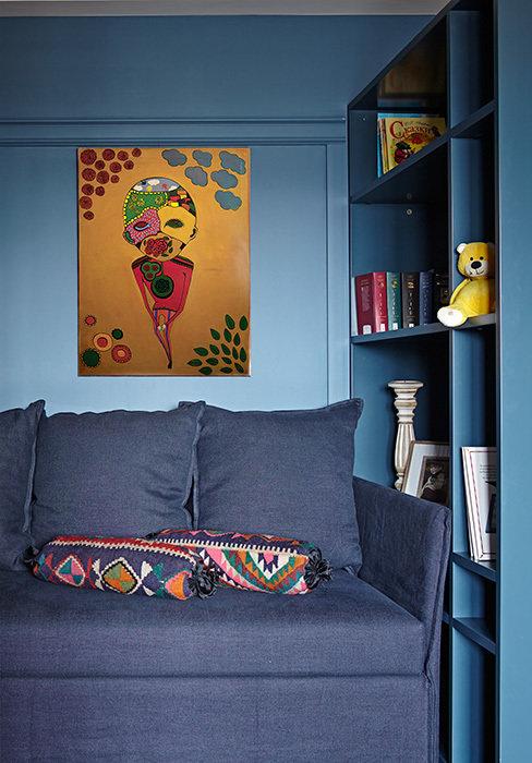 Фото из портфолио Квартира для семьи с двумя детьми, Москва – фотографии дизайна интерьеров на INMYROOM
