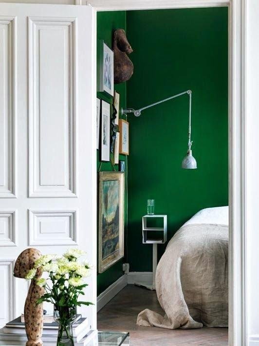 Фотография: Спальня в стиле Эклектика, Скандинавский, Интерьер комнат – фото на InMyRoom.ru