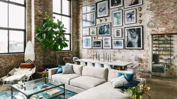 Фотография: Гостиная в стиле Лофт, Декор интерьера, уют дома, скандинавский стиль в интерьере, хюгге – фото на INMYROOM