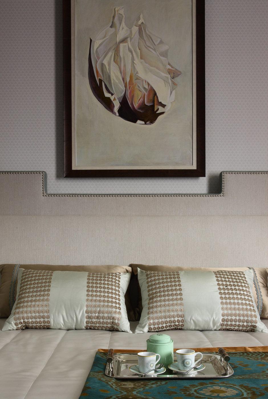 Фотография: Спальня в стиле Классический, Современный, Квартира, BOSCH, Проект недели, Москва, Лена Ленских, Manders, ЖК «Доминион» – фото на InMyRoom.ru