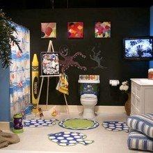 Фотография: Ванная в стиле , Интерьер комнат – фото на InMyRoom.ru