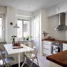 Фото из портфолио Кухня в шведской квартире – фотографии дизайна интерьеров на INMYROOM