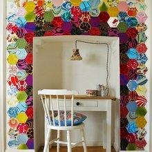 Фотография: Офис в стиле Скандинавский, Декор интерьера, Текстиль, Декор, Декор дома, Пэчворк – фото на InMyRoom.ru