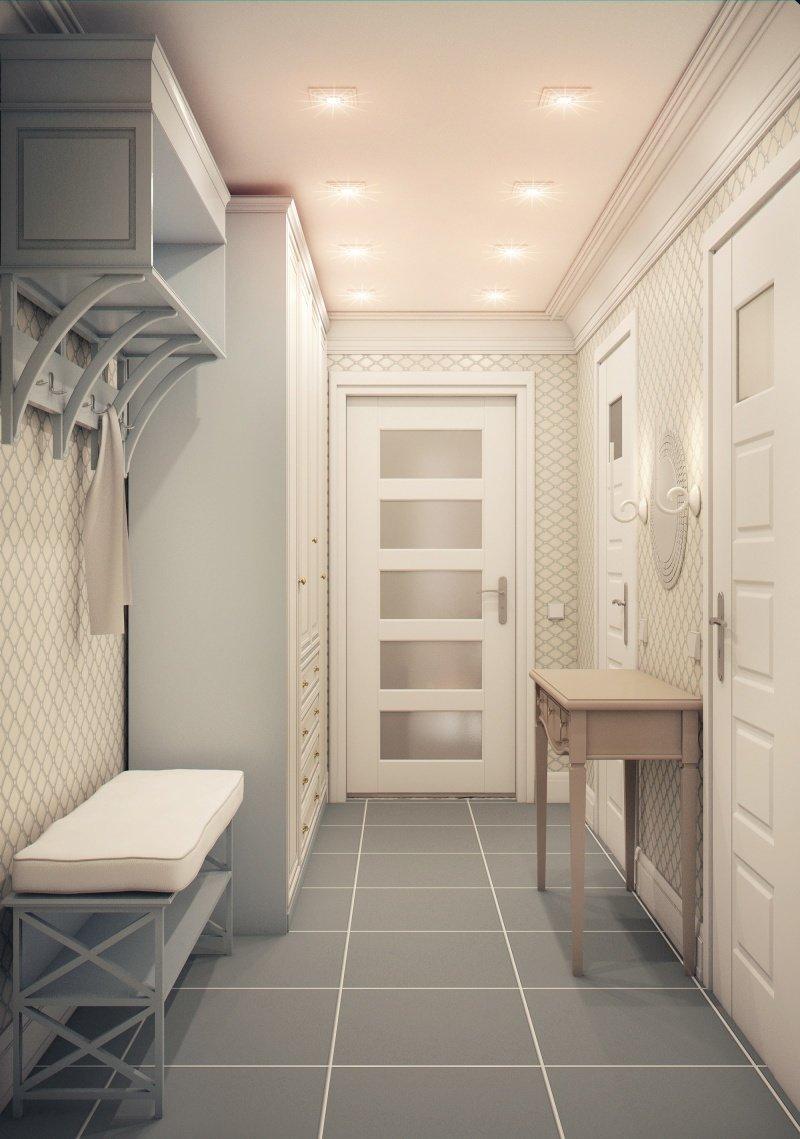 Фотография: Прихожая в стиле , Малогабаритная квартира, Квартира, Дома и квартиры – фото на InMyRoom.ru