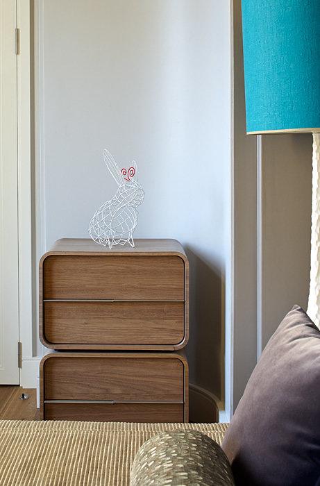 """Фотография: Спальня в стиле Современный, Классический, Дизайн интерьера, Проект недели, Школа """"Детали"""" – фото на InMyRoom.ru"""