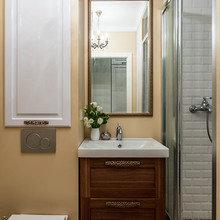 Фотография: Ванная в стиле Кантри, Малогабаритная квартира, Квартира, Наталья Сытенкова – фото на InMyRoom.ru