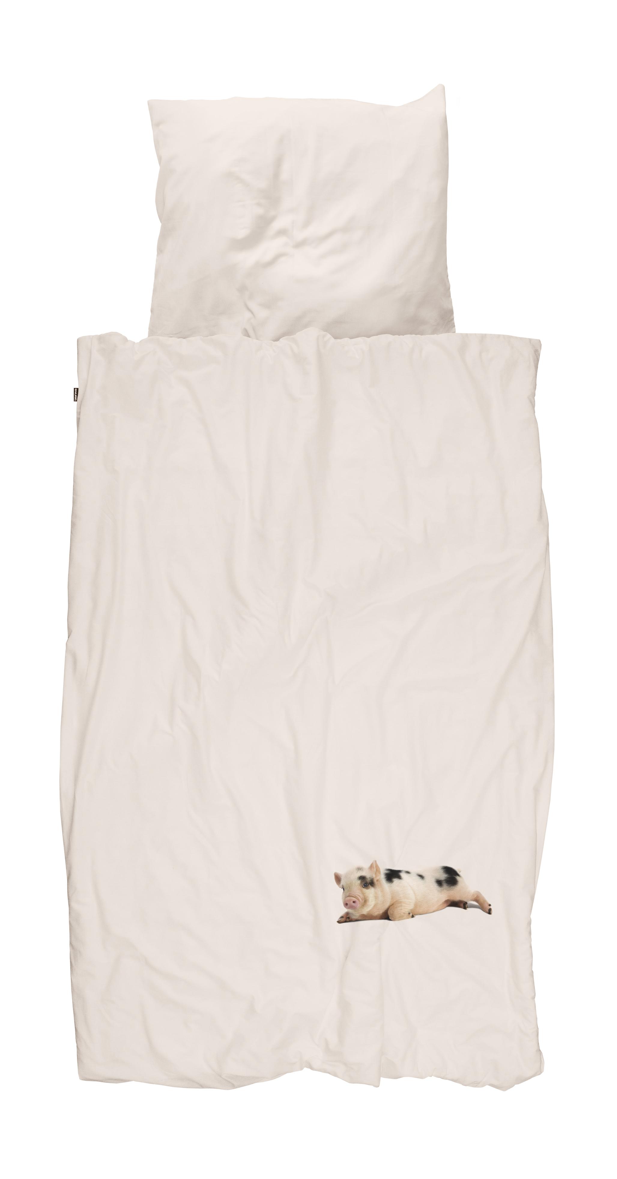 Купить Комплект постельного белья поросенок розовый 150х200, inmyroom, Нидерланды