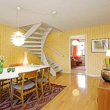 Фотография: Кухня и столовая в стиле Кантри, Квартира, Швеция, Дома и квартиры – фото на InMyRoom.ru