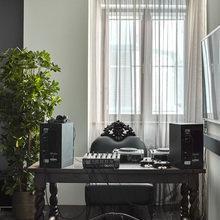 Фотография: Кабинет в стиле Эклектика, Квартира, Проект недели, Москва, Елена Семенова – фото на InMyRoom.ru