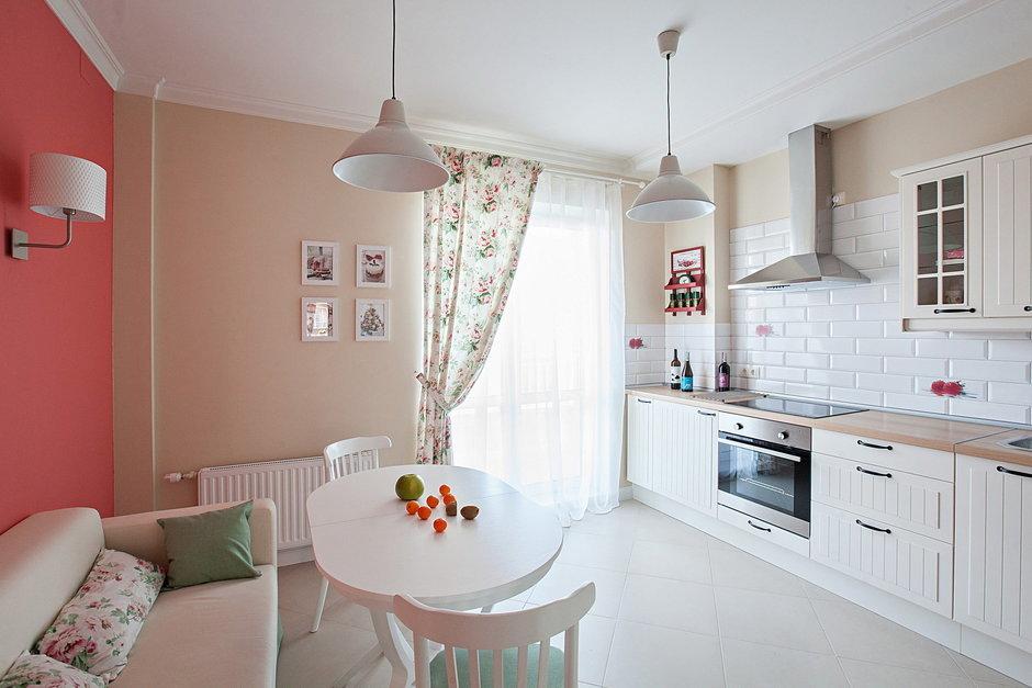 Фотография: Кухня и столовая в стиле Прованс и Кантри, Квартира, Дома и квартиры – фото на InMyRoom.ru