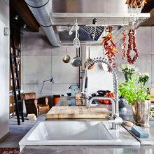Фотография: Кухня и столовая в стиле Лофт, Декор интерьера, Квартира, Дома и квартиры, Проект недели, Илья Беленя – фото на InMyRoom.ru