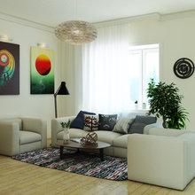 Фото из портфолио Интерьер частного коттеджа  – фотографии дизайна интерьеров на InMyRoom.ru