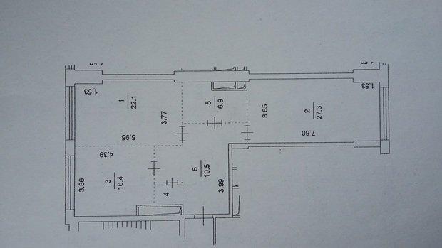 Посоветуйте решение планировки квартиры 94м