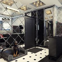 Фото из портфолио Необычная квартира с черным цветом – фотографии дизайна интерьеров на InMyRoom.ru