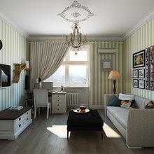 Фото из портфолио Дизайн проект квартиры на Ленинградском шоссе – фотографии дизайна интерьеров на INMYROOM