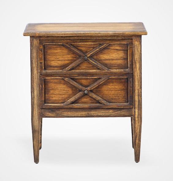 Купить Тумба «софи» из дерева минди с выраженной текстурой 66х60x40 см, inmyroom, Индонезия