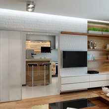 Фото из портфолио Квартира за городом  – фотографии дизайна интерьеров на INMYROOM