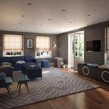 Фото из портфолио Интерьеры ukdesign – фотографии дизайна интерьеров на INMYROOM