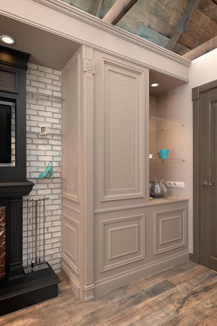 Фотография: Гостиная в стиле Прованс и Кантри, Дом, Дома и квартиры, Шале – фото на InMyRoom.ru