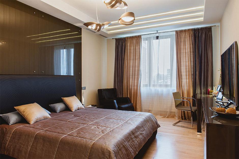 Фотография: Спальня в стиле Современный, Квартира, Дома и квартиры, Москва – фото на InMyRoom.ru