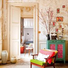 Фотография: Гостиная в стиле Кантри, Классический, Современный, Эклектика, Декор интерьера, Квартира, Дома и квартиры, Прованс – фото на InMyRoom.ru
