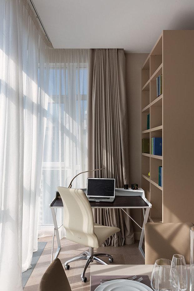 Фотография: Кабинет в стиле Современный, Классический, Квартира, Проект недели – фото на InMyRoom.ru
