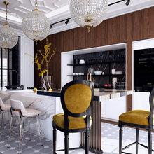 Фото из портфолио Кухня для молодой семьи – фотографии дизайна интерьеров на INMYROOM