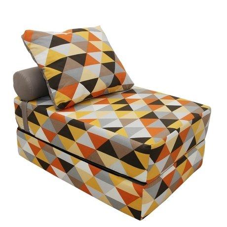 Кресло-кровать с валиком и подушкой — купить по цене 17500 руб в Москве | фото, описание, отзывы, артикул IMR-618438 | Интернет-магазин INMYROOM