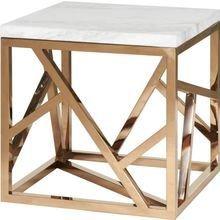Стол журнальный из дерева и металла