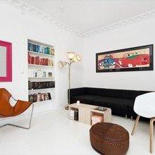 Фото из портфолио Белоснежный интерьер с яркими цветовыми пятнами – фотографии дизайна интерьеров на INMYROOM